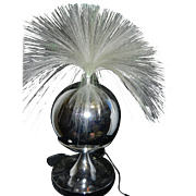 Vintage Fantasia Sunburst Model #4000 Fiber Optic Lamp