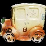 Vintage Ceramic Automobile Coin Bank