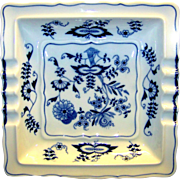Vintage Blue Danube Porcelain Ashtray