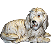 Vintage Shafford Porcelain Old English Sheep Dog