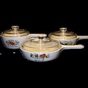 Vintage Corning Spice O' Life Pan Set
