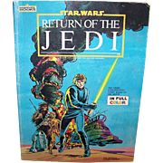 Vintage Marvel Comics Star Wars: Return Of The Jedi Official Comics Version By Stan Lee