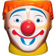 Vintage Ringling Brothers Barnum & Bailey Circus Clown Mug