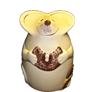 Vintage Los Angeles Pottery Mouse Cookie Jar