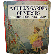 Vintage Robert Louis Stevenson's A Child's Garden Of Verses