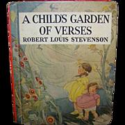 Vintage Robert Louis Stevenson's A Child's Garden Of Verses