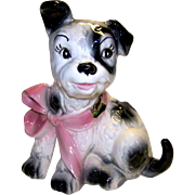 Vintage Lane & Company Ceramics Dog Planter