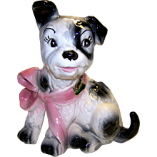 Vintage Lane & Company Ceramics Dog Planter