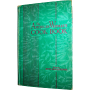 Vintage Hardback Cookbook The American Woman's Cookbook