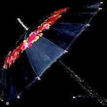 Vintage Rose Patterned Umbrella