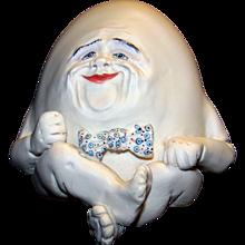 Vintage Humpty Dumpty Bisque Figurine