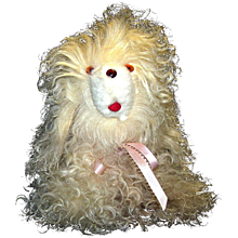 Vintage Stuffed Toy Dog