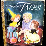 Vintage 1943 Edition Little Golden Book Of Nursery Tales
