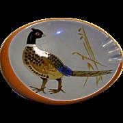 Vintage  Stangl Pottery Pheasant Ashtray