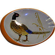 Vintage  Stangl Pottery Pheasant Ashtray
