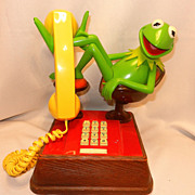 Vintage Kermit The Frog ATC Phone