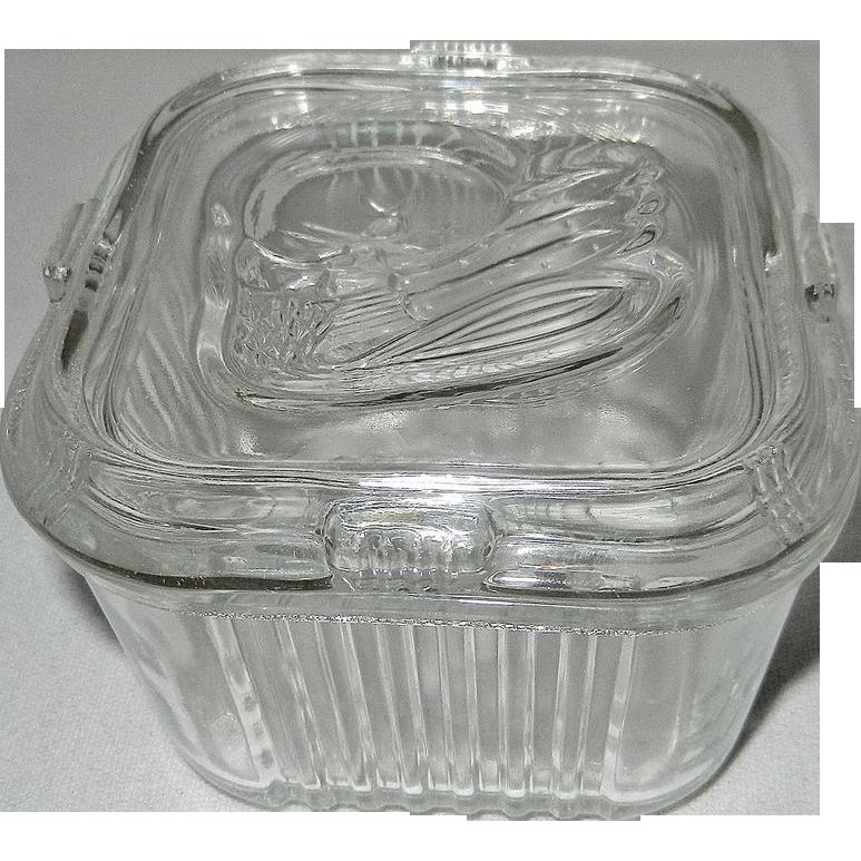 Vintage Refrigerator Glass 109