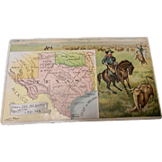Antique Arbuckles' 1889 Victorian No. 66 Texas State Card