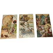 Antique Arbuckle Coffee Sports and Pastimes of All Nations Trading Cards