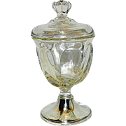 Antique Bailey Banks and Biddle Sterling Silver Footed Candy Dish