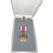 Vintage Meritorious Service Medal