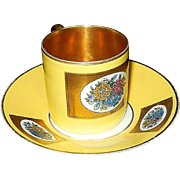 Vintage Thomas Bavaria Demitasse Cup and Saucer