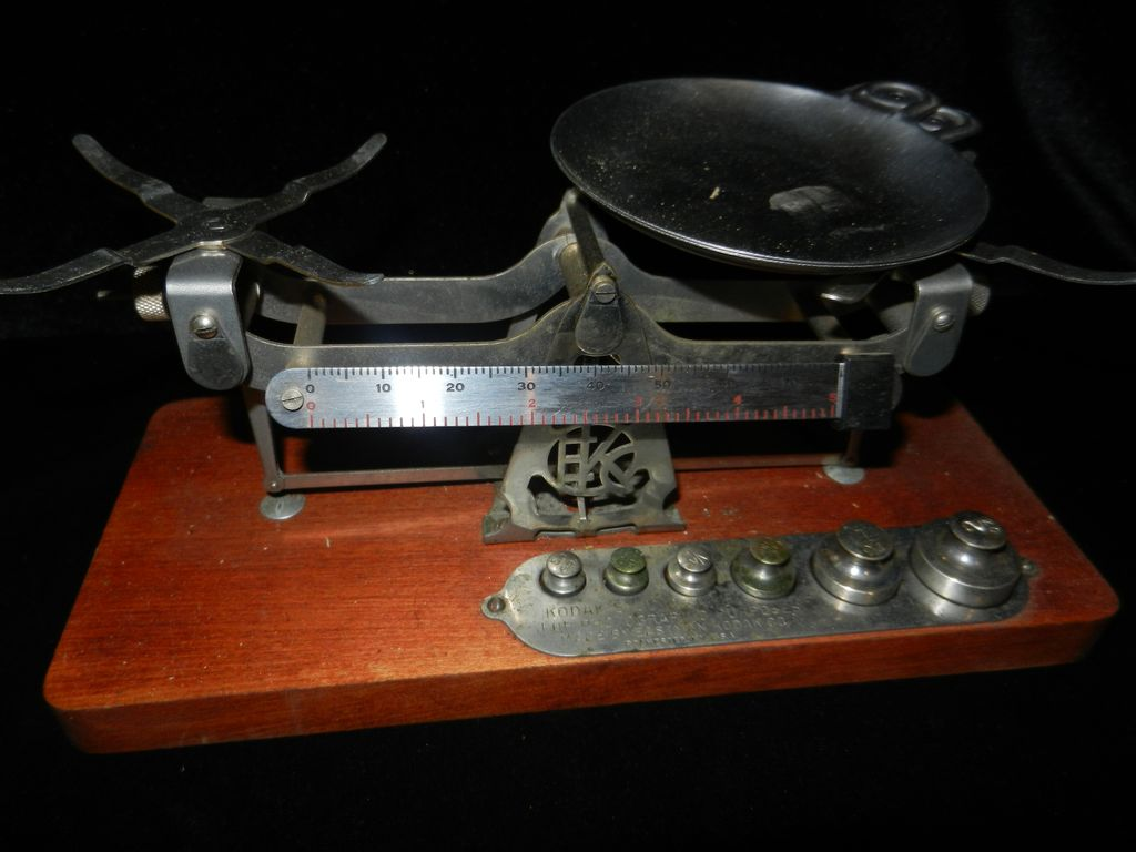 Vintage Eastman Kodak Studio Photo Scales- 1920-40's