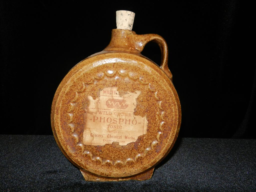 Antique Stoneware Pharmacy Jar- Grocers Chemical Works