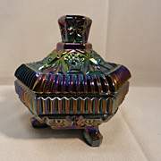 Vintage Imperial Glass by Lenox Covered Trinket Box