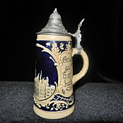 Vintage Martz and Remy Beer Stein