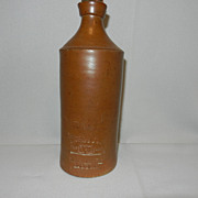 Vintage J Bourne- Denby Pottery Ink Bottle