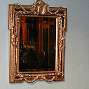 Vintage Decorative Beveled Mirror