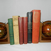 Vintage Collectors Books- Late 1800's – early 1900's
