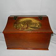 Vintage Curved Top Recipe or Storage Box