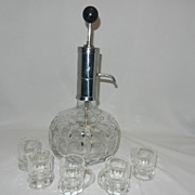 Vintage Park Sherman Pump Decanter