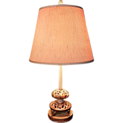 Vintage Capodimonte Table Lamps
