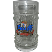 Vintage Hauff-Brau Kronungstoff Crown Beer Mug