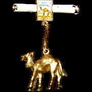 Vintage Salesman's Camel Cigarette Pin