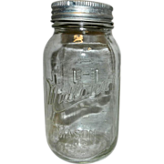Vintage Midland Quart Fruit Jar