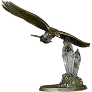 Bronze and Crystal Eagle