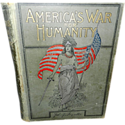 Vintage Book America's War for Humanity- The  Struggle for Liberty- John Ingalls- Spanish American War