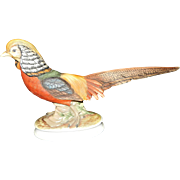 Vintage Lady Amherst Pheasant Figurine by Andrea