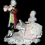 Vintage Karl-Heinz Klette Musical Couple Figurine- Germany