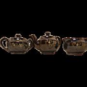 Vintage Made in Japan Lusterware Tea Set
