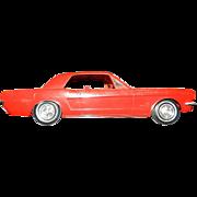 Vintage 1966 Ford Mustang Promotional Model Car