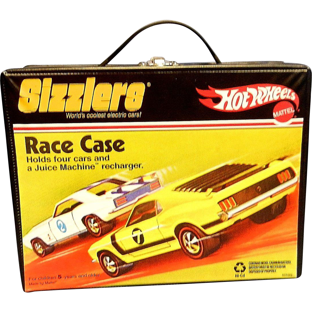 Vintage Hot Wheels Sizzlers Race Case From