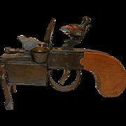 Vintage Dunhill Tinder Pistol Table Lighter