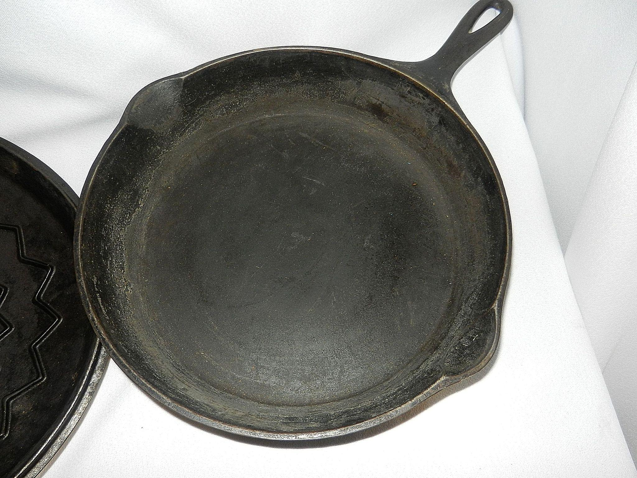 dating wagner ware Click this image for a larger picture of the wagner cast iron skillet if you've had any experience with cooking in cast iron, you'll know there's a difference between the modern-day cast iron pans and the classic antique iron cookware.