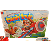 Vintage 1992 Loopin' Louie Board Game