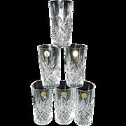 Vintage Cristal D'Arques-Durand Masquerade 12 Oz Flat Tumbler
